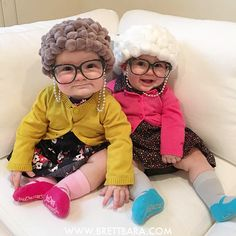 Super cute DIY granny costume for kids (old lady costume) // Vicces idős néni jelmez gyerekeknek egyszerűen - farsangi jelmez // Mindy - craft tutorial collection // #crafts #DIY #craftTutorial #tutorial
