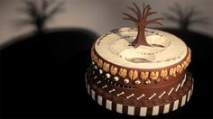 Master of the edible zoetrope Alexandre Dubosc just released his latest confectionery animation, a grizzly chocolate cake inspired by the films of Tim Burton.