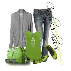 Lime and Grey :)