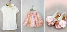 Pink Christmas: darling children's clothes from Joyfolie