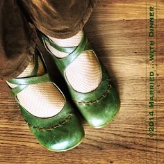 #fluevog #vog_malibran in long-sought-after green/brown colourway.