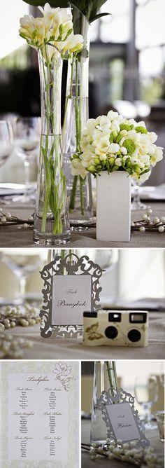 Klassisch modern in Elfenbein & Brombeer : weddingstyle-Hochzeitsblog