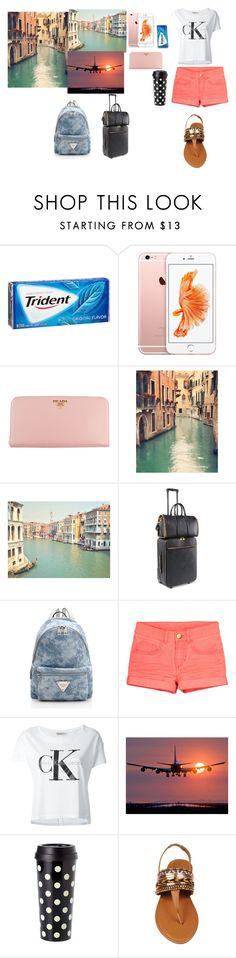 """#travel#Venice#Venecia#viaje"" by paulamodeloguapa-1 ❤ liked on Polyvore featuring Prada, STELLA McCARTNEY, Calvin Klein Jeans and Kate Spade"