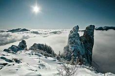"""Ladies' rocks""-- Rarau Mountains, Romania"