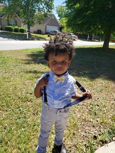 I think Junior is lookin' pretty sharp. What y'all think? #children #blackchildren #fashion...