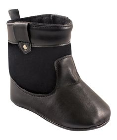 Take a look at this Black Velvet Riding Bootie today!