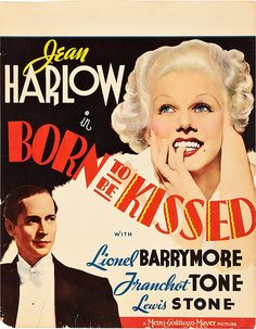 Jean Harlow, Born To Be Kissed   Flickr - Photo Sharing!