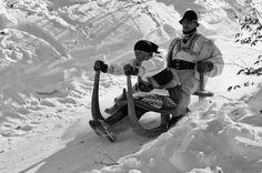 Sánkovanie (sledding), krňačky Heart Of Europe, Big Country, European Countries, Central Europe, Bratislava, Vintage Pictures, Czech Republic, Homeland, Family History