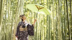 [ Even in the sunshine ]  Umbrella are not just for the rain don't you think? 晴れの日の和傘って素敵ですよね  #kyoto #arashiyama #京都 #嵐山 #umbrella #和傘 by you.iwata