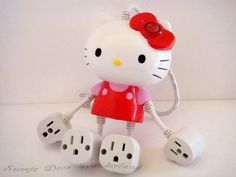 100 Auth Sanrio Hello Kitty Seasonal Limited Edition 4 Outlet Plug Power Strip | eBay