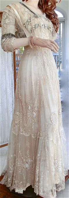 Vintage Lacy Gown