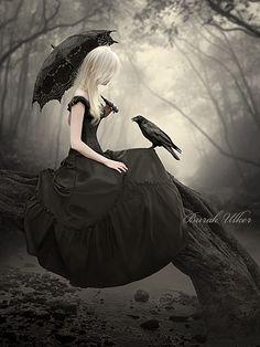 Dark Photo Manipulations by Burak Ulker http://www.cruzine.com/2013/10/30/dark-photo-manipulations-burak-ulker/