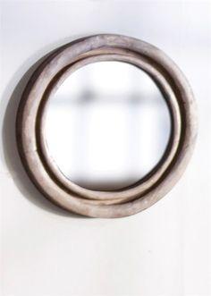 Classic Round Mirror via Chez Renee