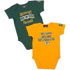 740b1978a 14 Best Green Bay Packer Baby images