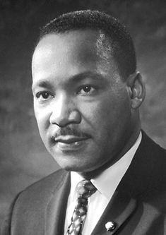 Martin Luther King, Jr. (Atlanta, Georgia, 1929. január 15. – Memphis, Tennessee, 1968. április 4.)