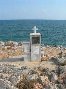 Greek Orthodox Memorial Shrine Warrior Girl, Greece, Image, Greece Country