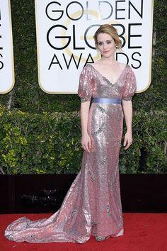 Clare Foy in Erdem ai Golden Globe Awards 2017 http://www.theauburngirl.com/best-dressed-of-the-weeks-golden-globes/