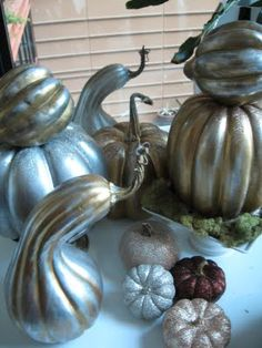 I wanna spray paint gourds!!!!!