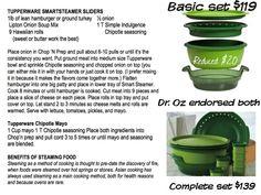 Hamburger Sliders in the Tupperware Smart Steamer