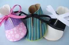 SALE - PDF ePATTERN - Saddle Shoes and Plain Shoes for Baby. $3.99, via Etsy.