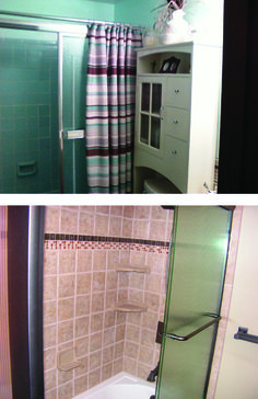 12 best before and after images on pinterest bath for Bathroom remodeling pittsburgh pa