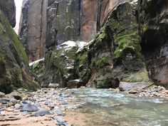 The Narrows - Zion National Park - Winter!