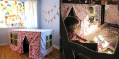 6 Kids' Playhouses, Forts, and Tents for Creative Play Indoors - The Artful Parent