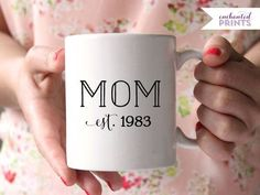 Mother's Day Mug // Customize with your own year!