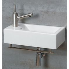 I need a teeny tiny sink for our teeny tiny powder room that for some reason only has a toilet