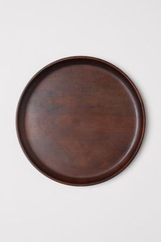 Large wooden tray - Dark brown - Home All  7298017c069f5
