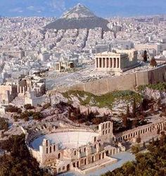 Greece, Athens - Click image to find more Travel Pinterest pins