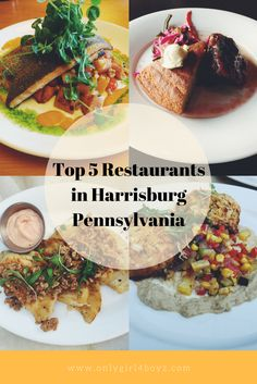 These restaurants are some of the top things you should do and places to visit when coming to Harrisburg, Pennsylvania  For more recipes and food reviews, check out www.onlygirl4boyz.com