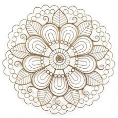 Art deco - also great for practicing machine quilting!