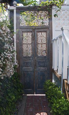 Beautiful European Garden Door - Pom Pom at Home