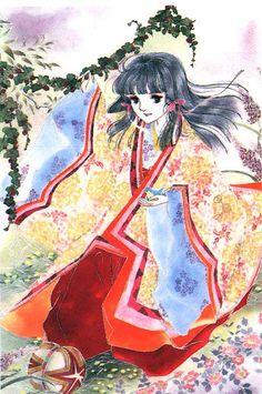 Waka-Murasaki (若紫) from The Tale of Genji (あさきゆめみし) by Waki Yamato (大和和紀).