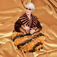 Someone made a whole instagram account to photoshop Meryl Streep (aka Bae) into food and it's everything