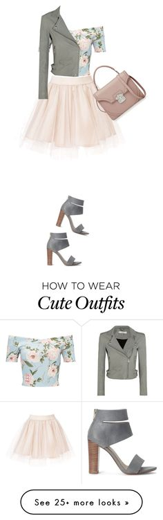 """""""Outfit"""" by cachomy on Polyvore featuring Miss Selfridge, Splendid, IRO and Alexander McQueen"""