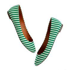 the bungalow stripe sidewalk skimmer // madewell