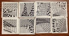 Zentangle Class Mosaic at The Gull Gallery in Bay Head, NJ