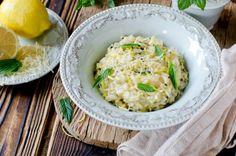 risotto riso carnaroli limone olio extravergine oliva menta