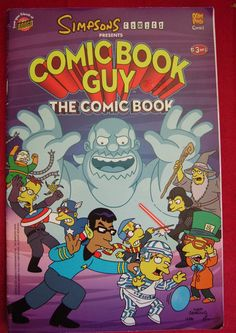 SIMPSONS COMIC BOOK GUY, THE COMIC BOOK # 3 VGC