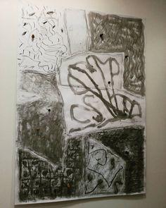 I profughi sono scacchi privi di scacchiera  opera di Vittorio D'Augusta #mybiennaleRN  #biennale #disegno #Rimini #circuitoopen #pentagonale #galleriafabjbasaglia #art #igersrimini #igersemiliaromagna #ingiroperlacittá #vivorimini @biennaledisegno by momsupermodern