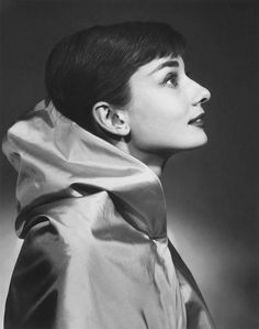 Audrey Hepburn, a 1956 photo by Yousuf Karsh
