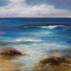 Canvas Painting Landscape, Sky Painting, Landscape Art, Paintings I Love, Original Paintings, Paint And Sip, Chalk Pastels, Elements Of Art, Art Oil