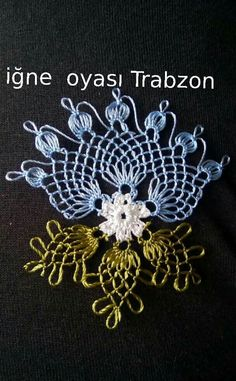 Mm - My Recommendations Bead Crochet, Irish Crochet, Crochet Doilies, Crochet Flowers, Crochet Lace, Fabric Flowers, Needle Tatting, Needle Lace, Bobbin Lace