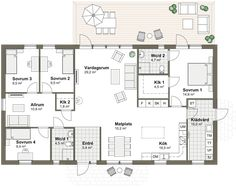 Sims Building, Future House, House Plans, Sweet Home, Villa, Floor Plans, House Design, Flooring, Bungalows