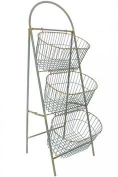 Whitney 3-Tier Basket - Bins & Baskets - Storage & Organization - Storage & Display   HomeDecorators.com