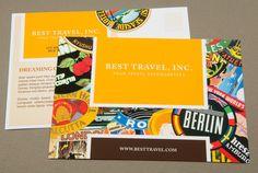 travel agency postcard