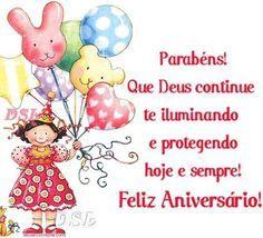 Que Deus continue te iluminando e protegendo #felicidades #feliz_aniversario #parabens