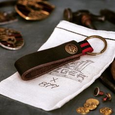 Nato Leather Keychain by Mezgerwerk x 877 Workshop